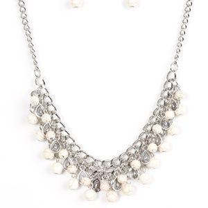 Poshly Paleo - White necklace